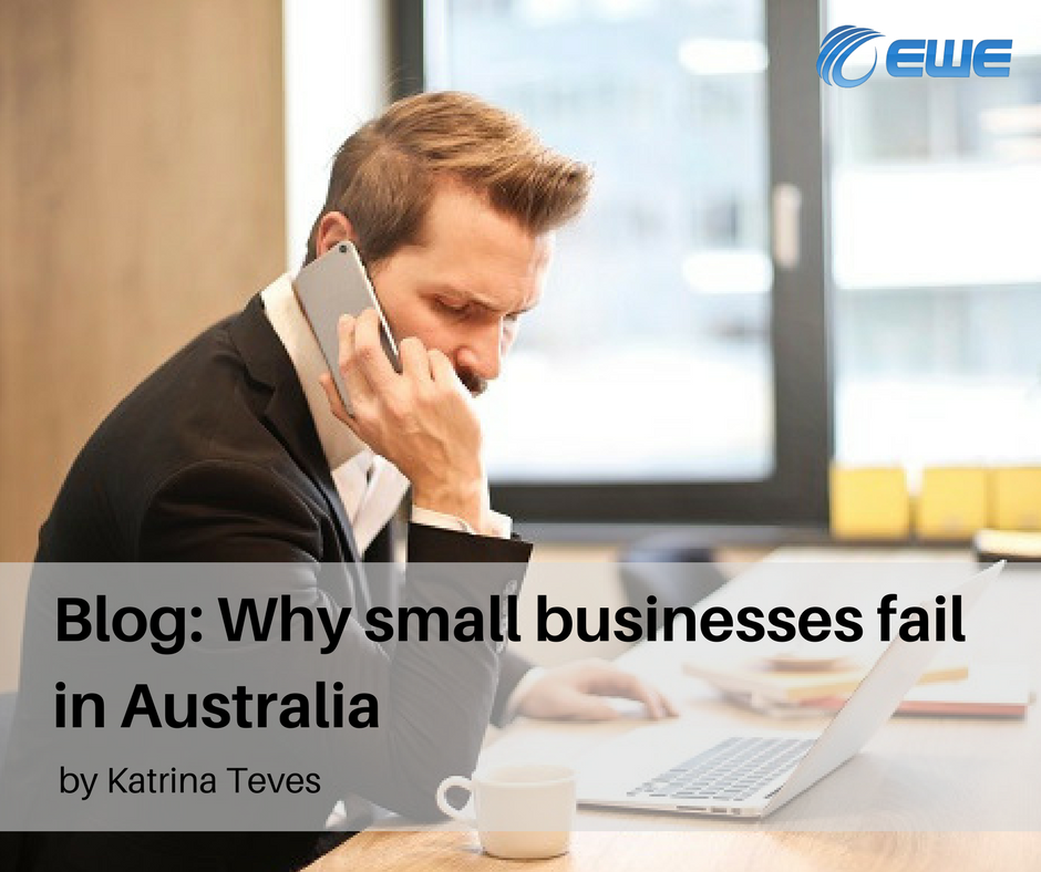 Why small businesses fail in Australia